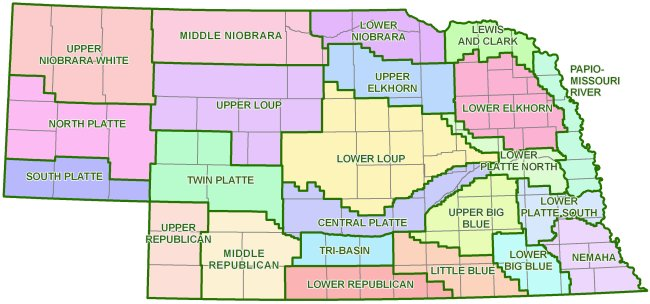 Nebraska Natural Resources Districts