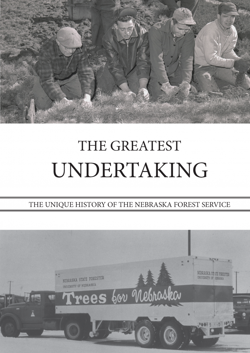 The book cover of the History of the Nebraska Forest Service