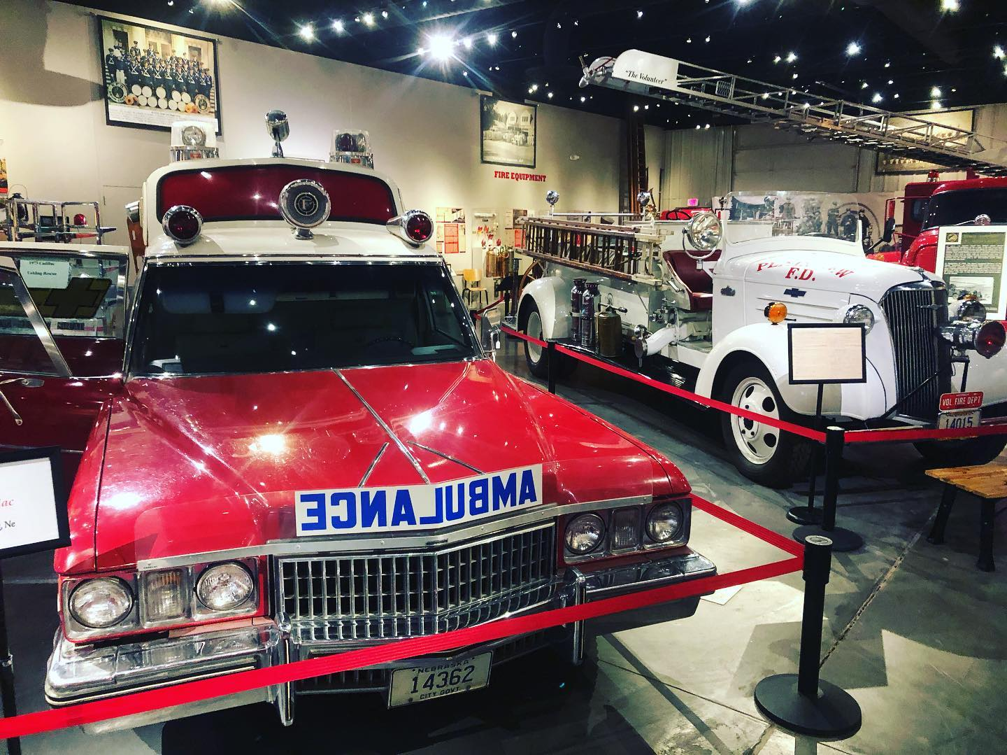 A photo of the Nebraska Firefighters Museum in Kearney, Nebraska