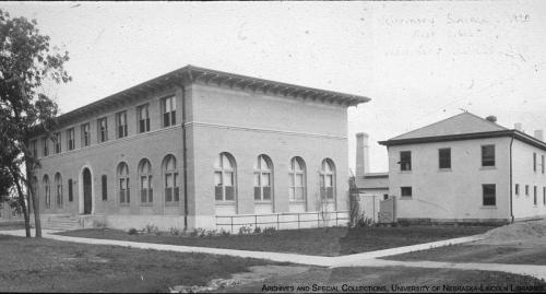 Forestry Hall circa 1920.