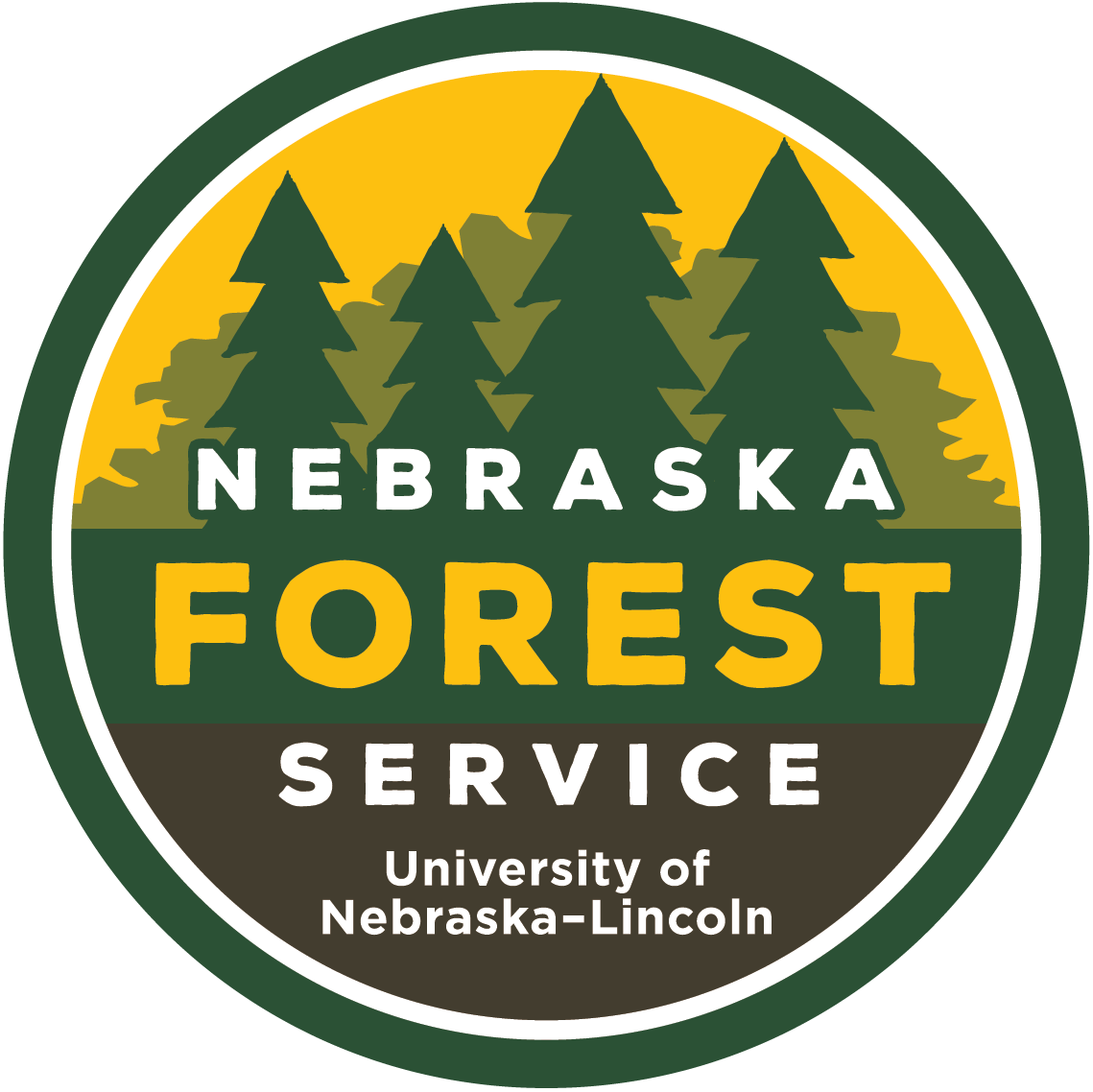 The latest Nebraska Forest Service logo