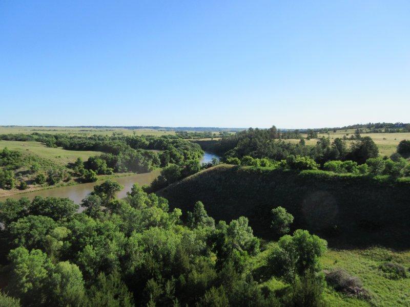 Niobrara Valley river system landscape.