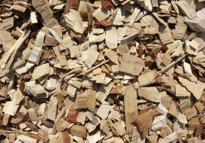 Tree Mulch for burning