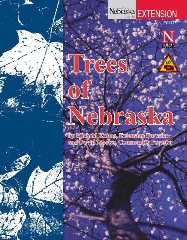 Cover of Trees of Nebraska publication.